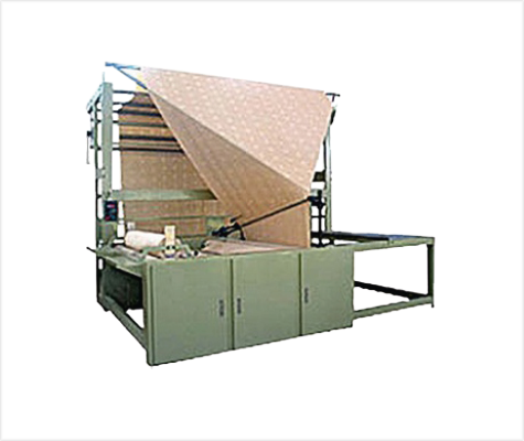 Double Fold and Open Width Plaing Machine